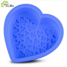 Love Heart Shape Silicone Cake Mold Non Stick Pastry Chocolate Bread Baking Tool