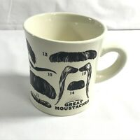 Great Mustaches Unemployed Philosophers Guild Brooklyn 2013 coffee cup mug