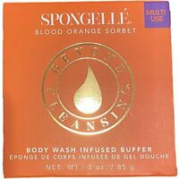 Spongelle Body Wash Infused Buffer Blood Orange Sorbet  3 oz. NIB - Free Ship!