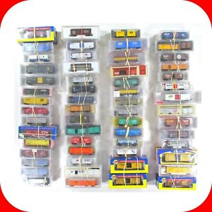 N Scale BOX CAR, REEFER 2-PACK Set Variety Lot, ATLAS MICRO TRAINS INTERMOUNTAIN