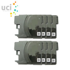 8bk Ink Cartridge For Brother LC985 DCP-J125 DCP-J140W DCP-J315W DCP-J515W