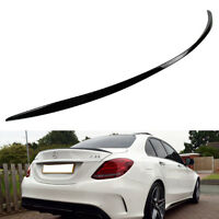 A TYPE REAR BOOT TRUNK SPOILER 08 13☜ PAINTED COMBO MERCEDES BENZ W204 OE ROOF