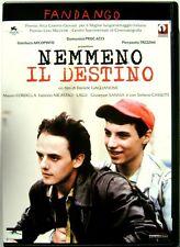 Dvd Nemmeno il destino di Daniele Gaglianone 2004 Usato raro fuori cat.
