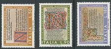 1972 ITALIA DANTE DIVINA COMMEDIA MNH ** - ED