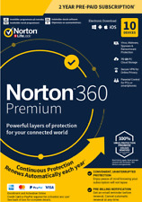 Norton 360 Premium 2020, 10 Device, 2 Years, World Wide, ESD