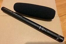 Genuine Sony ECM-674 Shotgun Microphone w/ Wind Screen Foam XLR Video Audio Pro