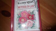 To a Very Special Mother-in-law by Pam Brown (Hardback, 1997)