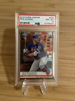2019 Topps Chrome Pete Alonso #204 Rookie PSA 8 NM-MT  (6323)