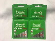 40 x Wilkinson Sword Contact Plus Rasierklingen Aloe Vera NEU+OVP