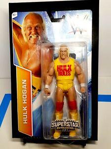 WWE Hulk Hogan Superstar Entrances Figure HULK RULES Wrestling Action Figure