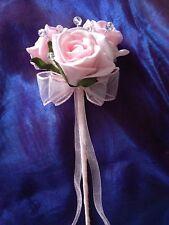 FLOWER GIRL PINK WAND WEDDING