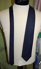 NWT ERMENEGILDO ZEGNA mens navy textured mohair wool tie ITALY #15