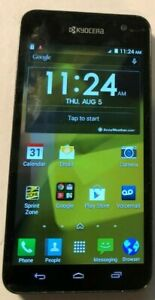 Kyocera Hydro Vibe C6725 8GB Charcoal Gray (Sprint) Smartphone Very Good Used