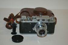 Zorki-1, Type D, Vintage 1954 Soviet Rangefinder Camera, Lens. 499820. UK Sale