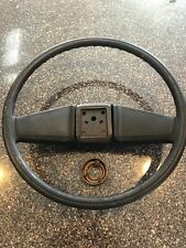 73-87 Chevy Truck GMC Pickup Black Steering Wheel W/Horn Button C10 C20 C30 OEM