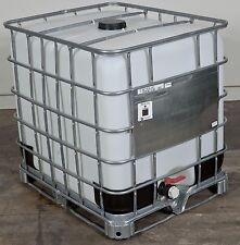 275 gallon IBC Tote Food Grade Liquid Storage Emergency Hydro Aquaponics - Used
