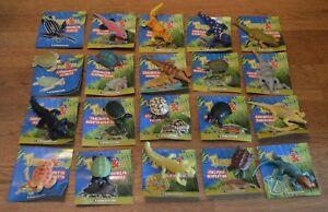 DeAgostini Turtles & Co. Booster Display Figuren aussuchen Schildkröte Krokodile