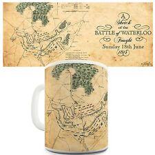 Battle Of Waterloo 1815 History Educational Theme Mug