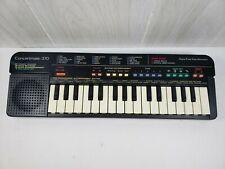 Vintage REALISTIC Concertmate 370 Keyboard 25 Sound Tone Bank TESTED FREE SHIP!