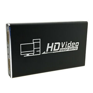 4K HDMI Capture Card with Loop USB Adapter Video Audio Game Recording Streaming
