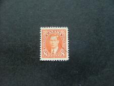 Canada KGVI 1937 8c orange SG362 G-FU