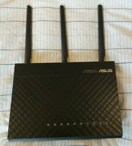 ASUS RT-AC68U 1900 Mbps 5 Port Wireless Router (90IG00C0-BU2000)