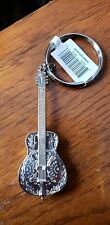 DOBRO RESONATOR GUITAR  KEYCHAIN Future Primitive key chain ** CLEARANCE**