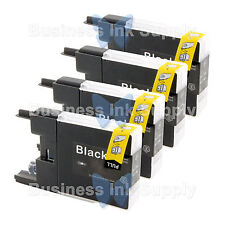 4 BLACK LC71 LC75 NON-OEM Ink for BROTHER MFC-J430W LC-71 LC-75 LC71BK LC75BK