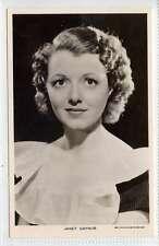 (Lq226-378) Real Photo of Actress Janet Gaynor, c1950,  Picturegoer 545 b