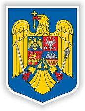 Escudo de Armas de la etiqueta engomada de Rumanía parachoques calcomanía de casco Moto Car Carro Bicicleta