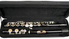 NEW  BLACK BAND C FLUTE W/CASE.APPROVED+ WARRANTY.