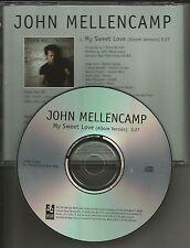 JOHN MELLENCAMP w/ LITTLE BIG TOWN My Sweet Love PROMO Radio DJ CD Single 2008