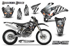 YAMAHA WR250F WR450F 2007-2011 GRAPHICS KIT CREATORX DECALS DZWS