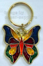 BUTTERFLY Key Ring Keychain Key Chain  NEW Great gift!