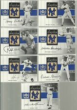 2000 UD Yankees Legends - RALPH HOUK - Legendary Lumber Gold Game Used Bat