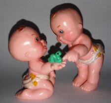 RARE GALOOB 1991 MAGIC DIAPER BABIES PALS SET LES COPAINS LOOSE