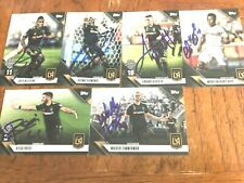 Los Angeles Football Club (LAFC) 2019 TOPPS SIGNED TEAM SET cards Current Roster