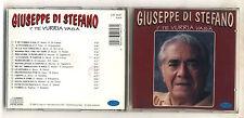 Cd GIUSEPPE DI STEFANO I' te vurria vasà – OTTIMO 1995 Napoli
