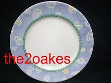 "3 Corelle BLUEFIELD Dinner 10-3/4"" Plates Corning"