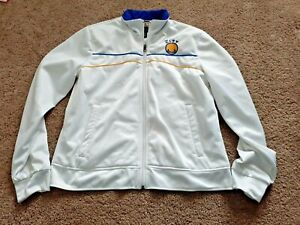 Hardwood Classics G3 Sports By Carl Banks Womens Large L Rhinestones GS Warriors