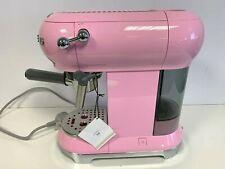 SMEG Pink Espresso and Cappuccino Maker BNIB