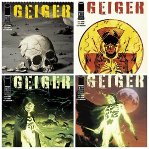 Geiger #3 Cover A B C Variant Set Options Lemire Weeks Image Comics Presale 6/9