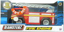 Fire Engine Véhicule Camion die cast jouet rouge avec échelle, Light & Sound New BOXED