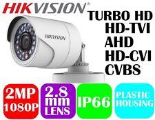 Hikvision HD1080p 4in1 TVI/AHD/CVI/CVBS IR Bullet Camera DS-2CE16D0T-IRPF 2.8mm