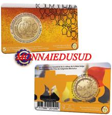 Coincard 2,50 Euro Commémorative Belgique 2021 - Culture de la Bière Version NL
