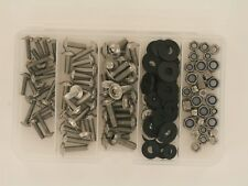 Cover Screw, Screws Fairing M4,M5,M6 Stainless Steel 150 Piece