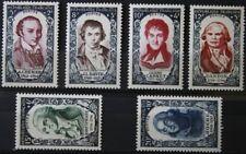 1950 FRANCE TIMBRE Y & T N° 867 à 872 Neufs * * SANS CHARNIERE