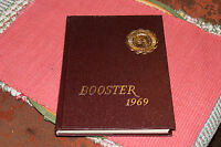 Vintage Union New Jersey 1969 High School Yearbook-Booster-Two Guys Advertisemen