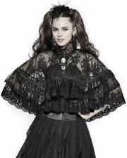 Polyester Button Coats & Jackets Steampunk for Women