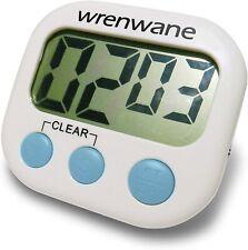 Kitchen Timer (Upgraded), No Frills, Simple Operation, Big Digits, Loud Alarm,